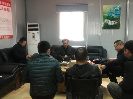 建亚万博max手机版团队赴广西桂柳高速公路总承包部及各标段开展2021年首次跟踪法律服务